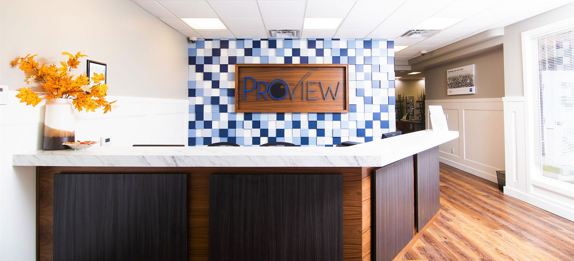 front desk proview eye care optometry