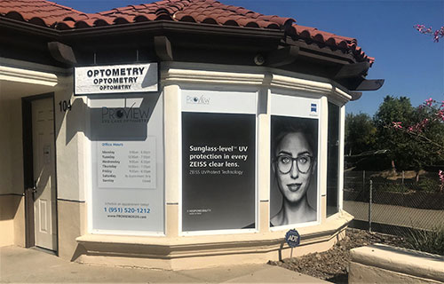 Exterior of ProView Eye Care Optometry